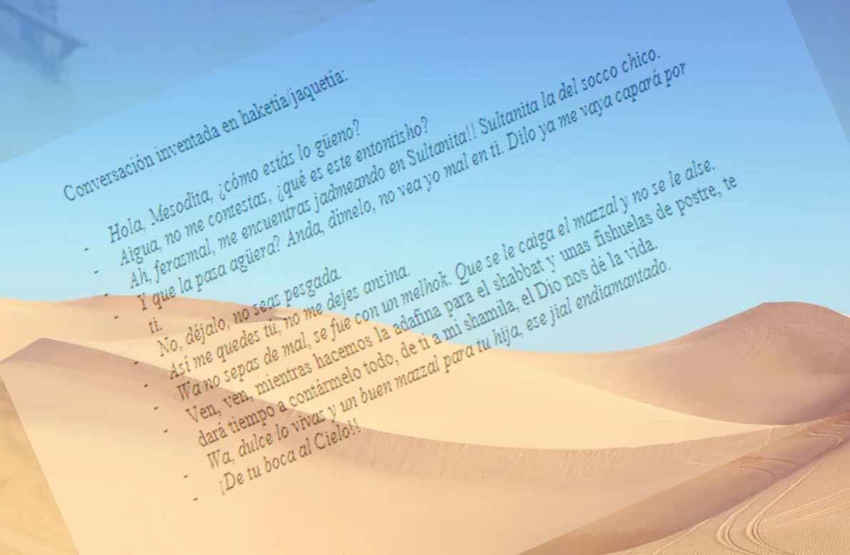 """""""Haketía"""" por Sol Genafo"""