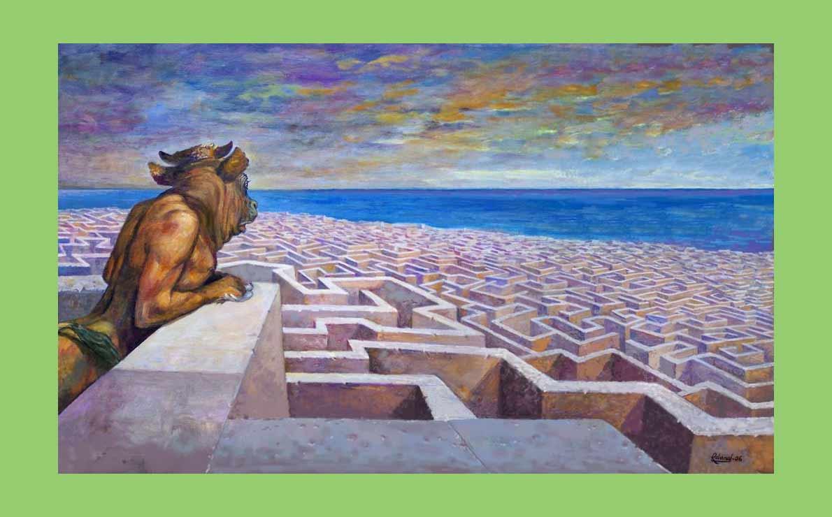 La soledad de Asterión por Santiago De Luca