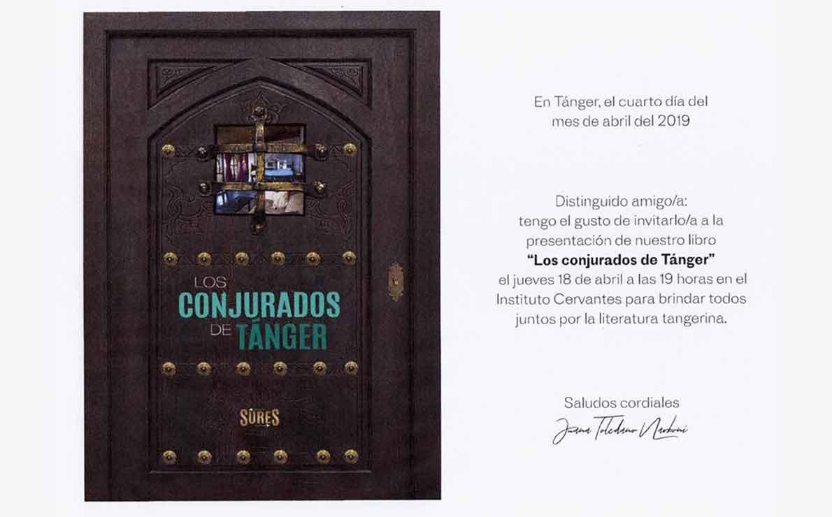 LOS CONJURADOS DE TÁNGER por Santiago De Luca