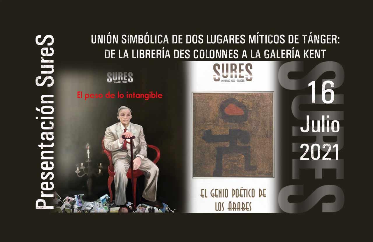 Revista SureS EL PESO DE LO INTANGIBLE. Verano 2021 Tánger